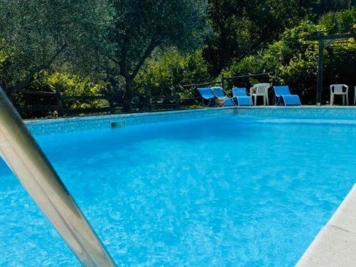 "La nostra piscina vista ""infinito"""